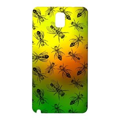 Insect Pattern Samsung Galaxy Note 3 N9005 Hardshell Back Case