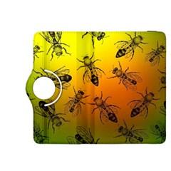 Insect Pattern Kindle Fire HDX 8.9  Flip 360 Case