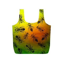 Insect Pattern Full Print Recycle Bags (S)