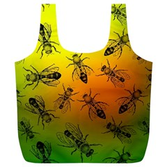 Insect Pattern Full Print Recycle Bags (L)