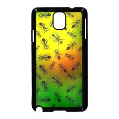 Insect Pattern Samsung Galaxy Note 3 Neo Hardshell Case (Black)