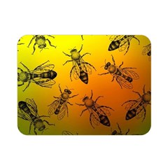 Insect Pattern Double Sided Flano Blanket (Mini)