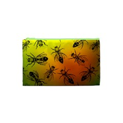 Insect Pattern Cosmetic Bag (XS)