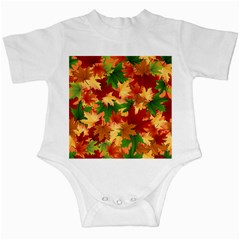 Autumn Leaves Infant Creepers