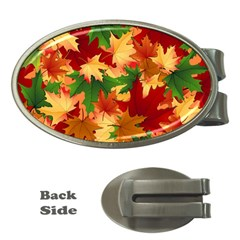 Autumn Leaves Money Clips (oval)