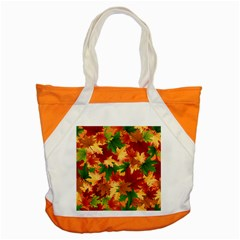 Autumn Leaves Accent Tote Bag