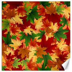 Autumn Leaves Canvas 12  X 12