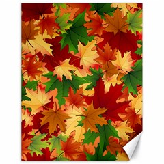 Autumn Leaves Canvas 18  x 24