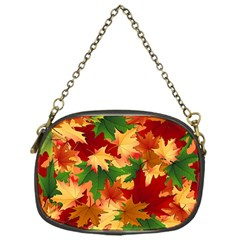 Autumn Leaves Chain Purses (One Side)