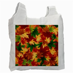 Autumn Leaves Recycle Bag (Two Side)