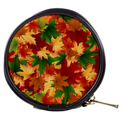 Autumn Leaves Mini Makeup Bags
