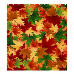Autumn Leaves Shower Curtain 66  x 72  (Large)