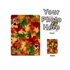 Autumn Leaves Playing Cards 54 (mini)