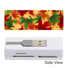 Autumn Leaves Memory Card Reader (stick)