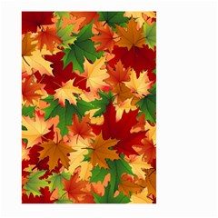 Autumn Leaves Large Garden Flag (Two Sides)