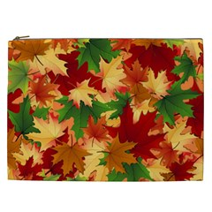 Autumn Leaves Cosmetic Bag (XXL)