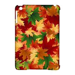 Autumn Leaves Apple iPad Mini Hardshell Case (Compatible with Smart Cover)