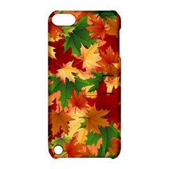 Autumn Leaves Apple iPod Touch 5 Hardshell Case with Stand