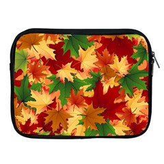 Autumn Leaves Apple iPad 2/3/4 Zipper Cases