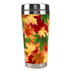 Autumn Leaves Stainless Steel Travel Tumblers