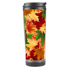 Autumn Leaves Travel Tumbler