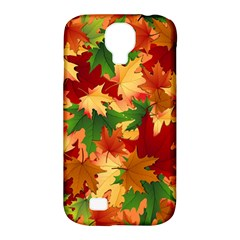 Autumn Leaves Samsung Galaxy S4 Classic Hardshell Case (PC+Silicone)