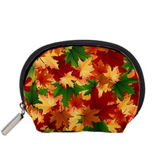 Autumn Leaves Accessory Pouches (Small)