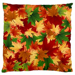 Autumn Leaves Standard Flano Cushion Case (One Side)