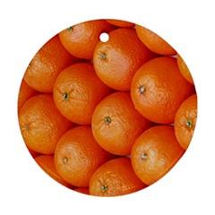 Orange Fruit Ornament (Round)