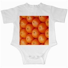 Orange Fruit Infant Creepers