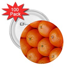 Orange Fruit 2 25  Buttons (100 Pack)