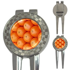 Orange Fruit 3 In 1 Golf Divots