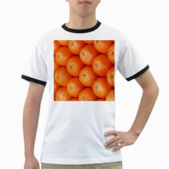 Orange Fruit Ringer T-Shirts