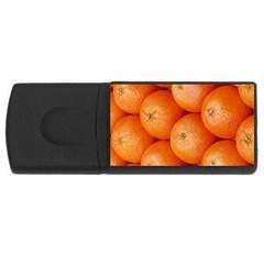 Orange Fruit USB Flash Drive Rectangular (4 GB)