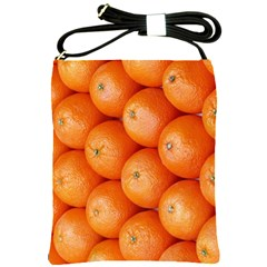 Orange Fruit Shoulder Sling Bags