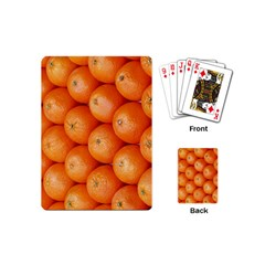 Orange Fruit Playing Cards (mini)