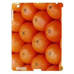 Orange Fruit Apple iPad 3/4 Hardshell Case (Compatible with Smart Cover)