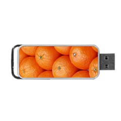 Orange Fruit Portable Usb Flash (two Sides)