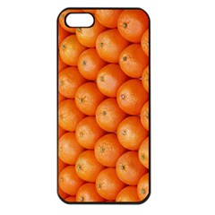 Orange Fruit Apple iPhone 5 Seamless Case (Black)
