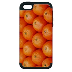 Orange Fruit Apple iPhone 5 Hardshell Case (PC+Silicone)