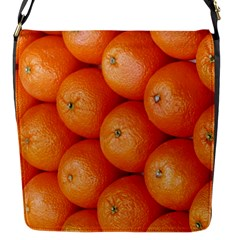 Orange Fruit Flap Messenger Bag (S)