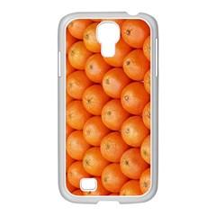 Orange Fruit Samsung Galaxy S4 I9500/ I9505 Case (white)