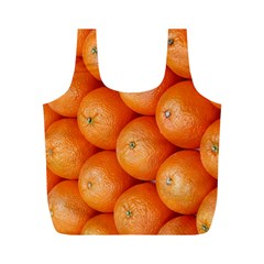 Orange Fruit Full Print Recycle Bags (m)