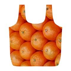 Orange Fruit Full Print Recycle Bags (L)