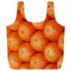 Orange Fruit Full Print Recycle Bags (L)