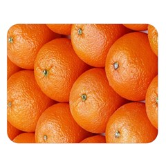 Orange Fruit Double Sided Flano Blanket (Large)