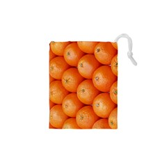 Orange Fruit Drawstring Pouches (xs)