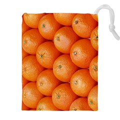 Orange Fruit Drawstring Pouches (XXL)