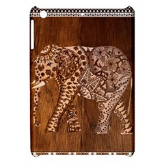 Elephant Aztec Wood Tekture Apple iPad Mini Hardshell Case