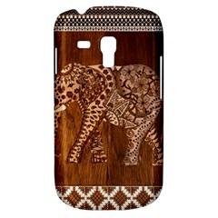 Elephant Aztec Wood Tekture Galaxy S3 Mini